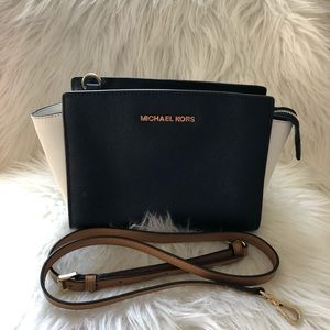 Micheal Kors color block Selma